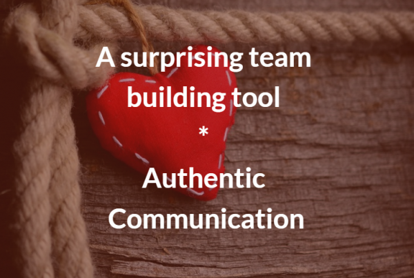team building through authentic communication